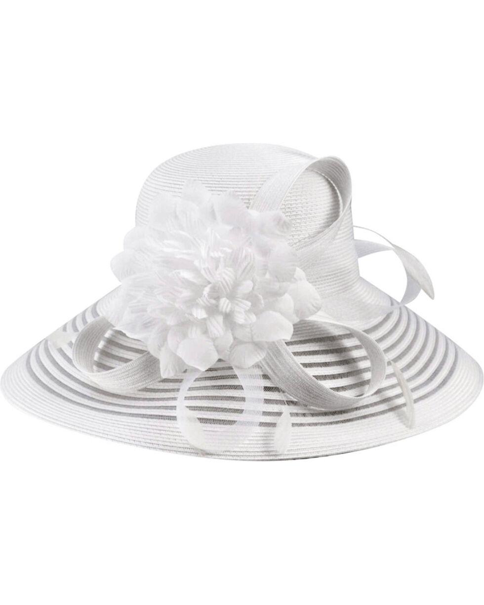 Betmar Women's Lanna Hat, White, hi-res