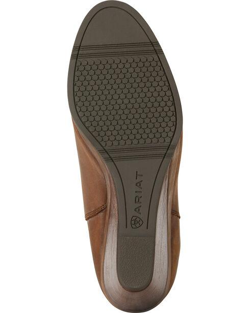 Ariat Women's Tan Broadway Wedge Boots - Round Toe, Tan, hi-res