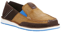 Ariat Men's Chocolate Cruiser Shoes - Moc Toe, , hi-res
