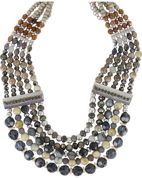 Shyanne Women's Statement Necklace, Silver, hi-res