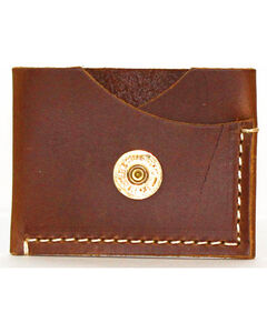 SouthLife Supply Men's Jefferson Aged Bourbon Leather Card Holder, Brown, hi-res