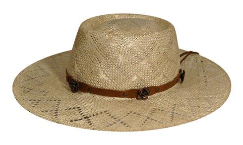 Renegade by Bailey Women's Honey Gambler Straw Hat, Natural, hi-res