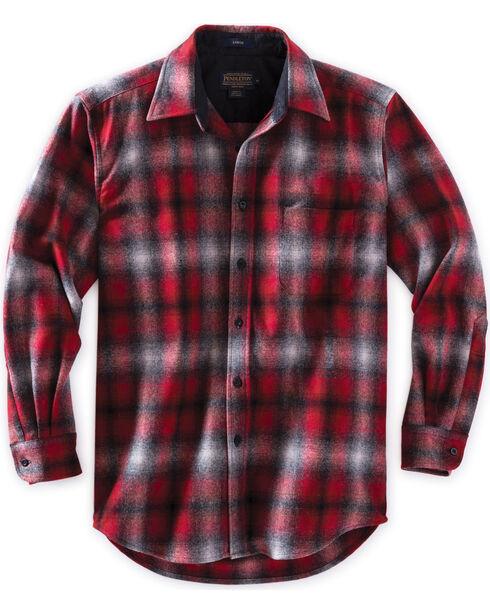Pendleton Men's Red Ombre Lodge Shirt , Red, hi-res