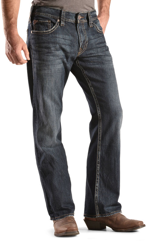 Silver Men's Zac Dark Wash Jeans - Relaxed Fit , Denim, hi-res
