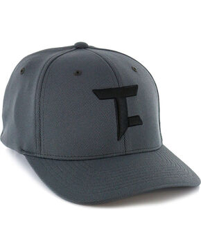 Panhandle Men's Tuf Cooper Logo Performance Flexfit Cap, Black, hi-res