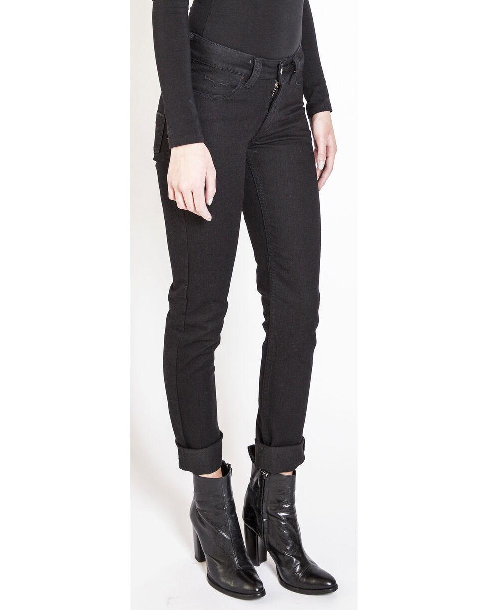 Kimes Ranch Women's Betty Black Modest Boot Cut Jeans, Black, hi-res