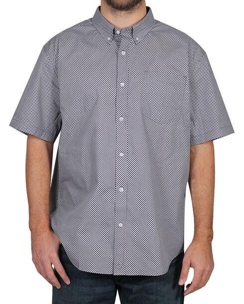 Cody James Men's Pattern Short Sleeve Shirt , Purple, hi-res