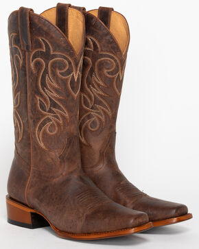 Shyanne Women's Mad Cat Western Boots - Square Toe, Brown, hi-res
