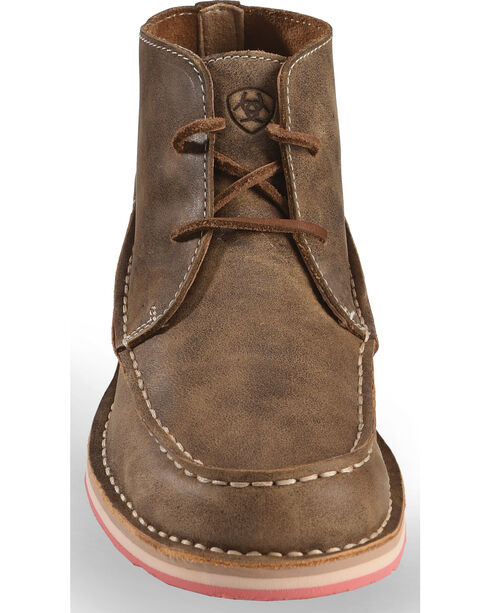 Ariat Women's Brown Cruiser Lace-Up Shoes , Brown, hi-res