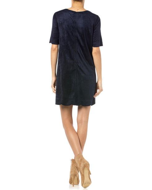 Miss Me Navy Crewneck Dress, Navy, hi-res