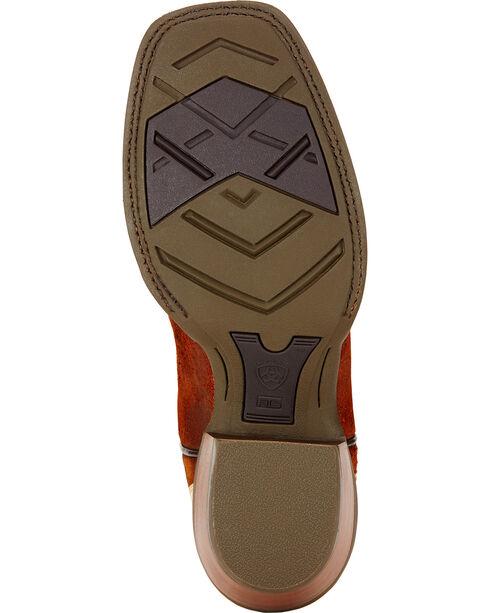 Ariat Wildstock Cowboy Boots - Square Toe , Brick, hi-res