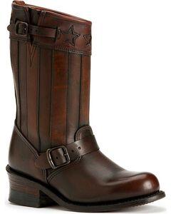 Frye Women's Engineer Americana Short Boots - Round Toe, , hi-res