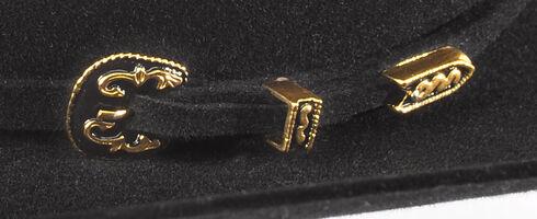 Serratelli Men's Black 6X Fur Felt Latigo Cowboy Hat , Black, hi-res
