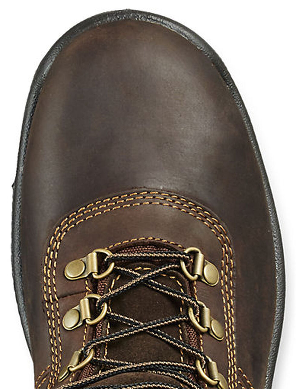"""Irish Setter by Red Wing Shoes Men's Ely EH Waterproof 6"""" Work Boots - Steel Toe, Brown, hi-res"""
