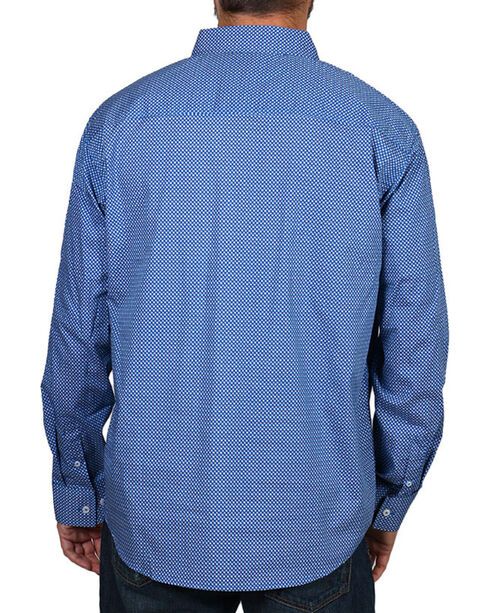 Cody James Men's Sunburst Long Sleeve Shirt, Blue, hi-res