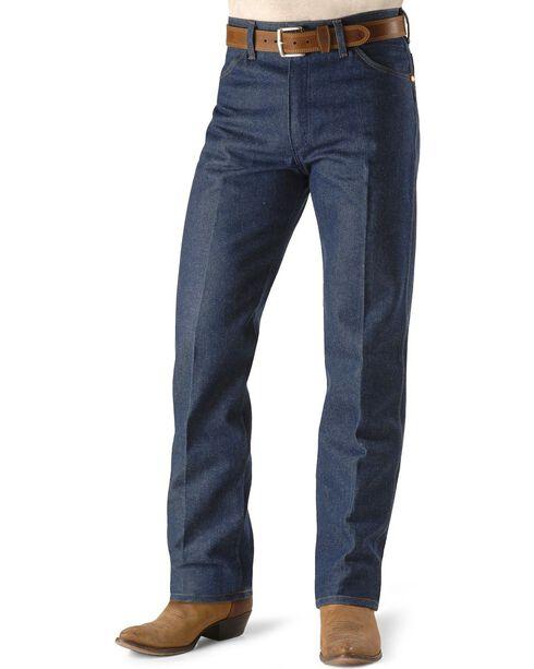 Wrangler Jeans - 13MWZ Original Fit Rigid - Reg, Big, Tall & Big/Tall, Indigo, hi-res