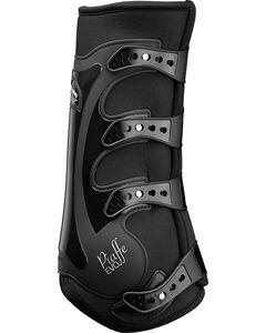 Veredus Piaffe EVO Dressage Rear Boots, Black, hi-res