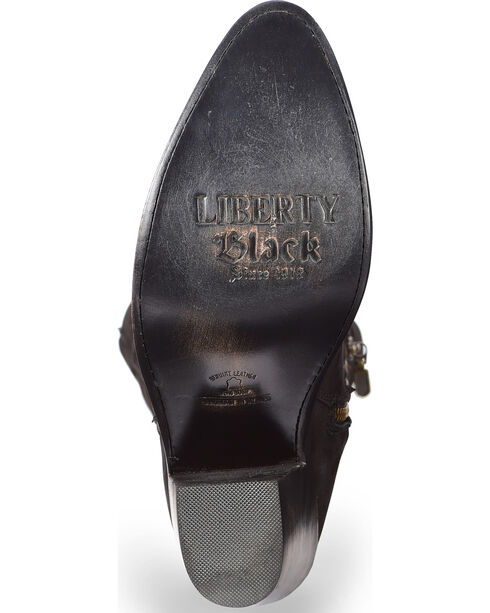 Liberty Black Women's Black Soho Boots - Round Toe , Black, hi-res