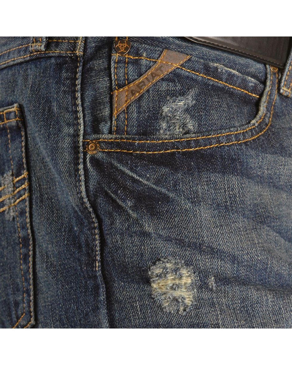 Ariat Denim Jeans - M4 Tabac Relaxed Fit - Big & Tall, Dark Stone, hi-res