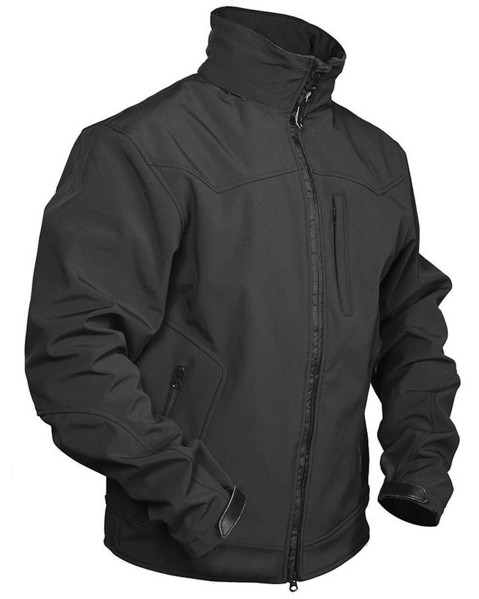 STS Ranchwear Men's Young Gun Black Jacket, Black, hi-res