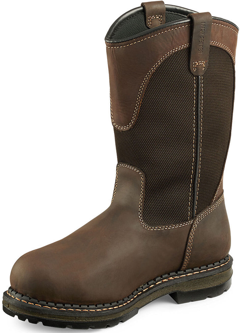 Irish Setter by Red Wing Men's Ramsey Work Boots - Soft Round Toe , Brown, hi-res