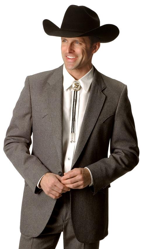 Circle S Lubbock Suit Coat - Big and Tall, Hthr Grey, hi-res