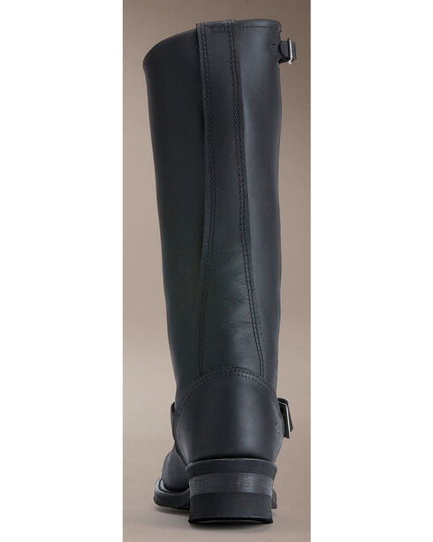 Frye Women's Engineer 15R Riding Boots - Round Toe, Black, hi-res