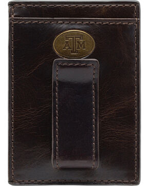Jack Mason Texas A&M Legacy Multicard Front Pocket Wallet , Brown, hi-res