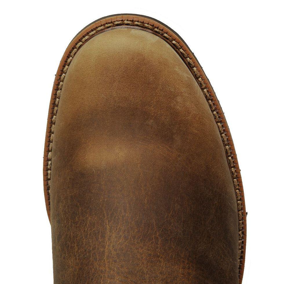 Justin Men's J-Max Blueprint Bay Gaucho EH Pull-On Work Boots - Soft Toe, Tan, hi-res