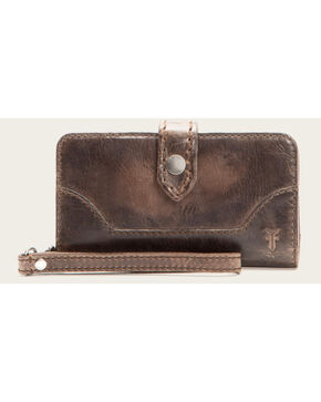 Frye Women's Melissa Phone Wallet , Slate, hi-res