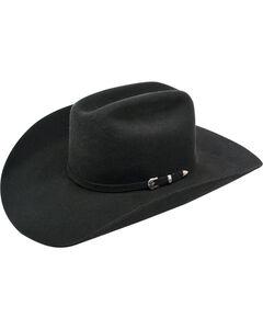 Ariat Maverick 6X Rabbit Fur Felt Cowboy Hat, Black, hi-res