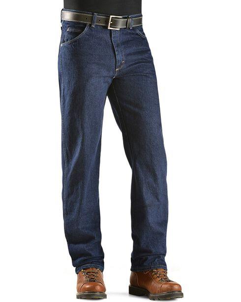 "Wrangler Jeans - Rugged Wear Classic Fit - Big 44"" to 54"" Waist, Indigo, hi-res"