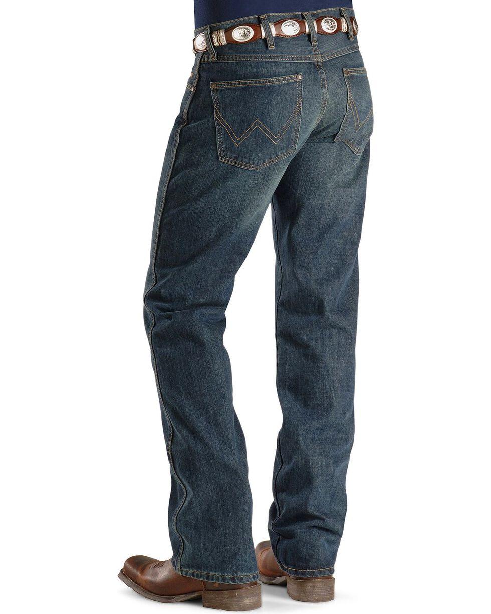 Wrangler Retro Slim Fit Boot Cut Jeans , Med Wash, hi-res