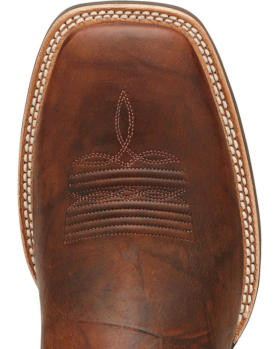Ariat Tycoon Cowboy Boots - Square Toe, Brown, hi-res