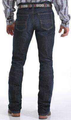 Cinch Men's Indigo Mid-Rise Dark Stonewash Ian Jeans - Boot Cut, , hi-res