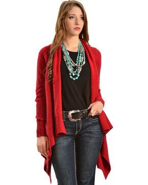 Ariat Women's Gillian Sweater, Red, hi-res