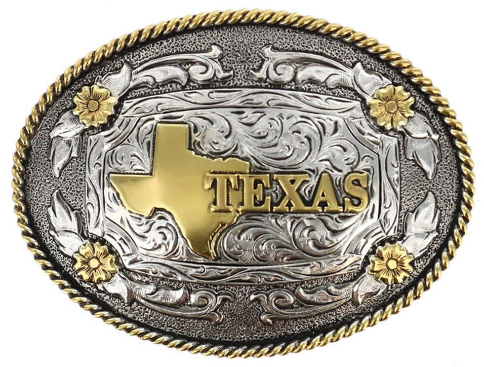 Cody James Men's Oval Texas Belt Buckle, Multi, hi-res