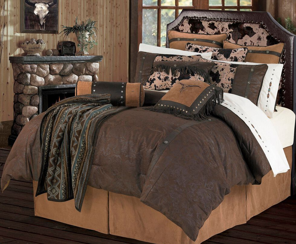 HiEnd Accents Caldwell Full Size Bedding Set, Multi, hi-res