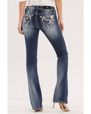 Miss Me Women's Blue Dreamcatcher Jeans - Boot Cut , Blue, hi-res