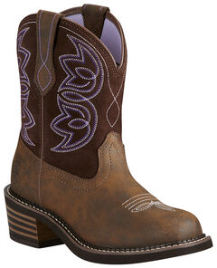 Ariat Women's Charlotte Boots - Round Toe, , hi-res
