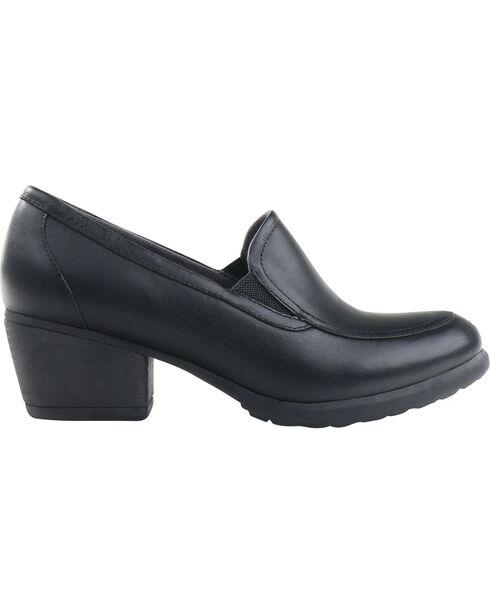 Eastland Women's Tonie Twin Gore Slip On Shoes , Black, hi-res