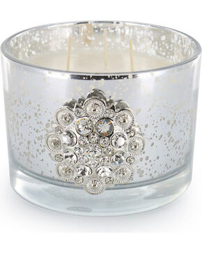 BB Ranch Cashmere Scented Concho Candle, No Color, hi-res