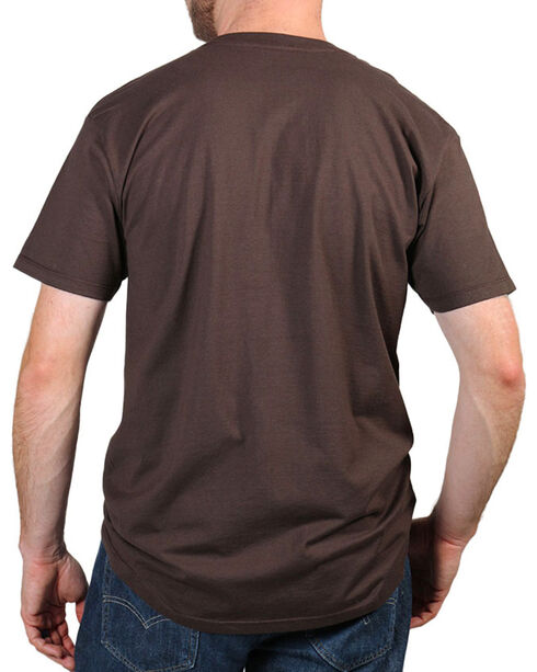 Moonshine Spirit Men's Hawkeye T-Shirt , Brown, hi-res