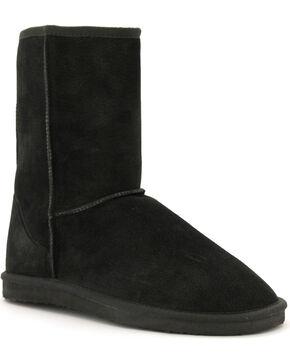 "Lamo Women's 9"" Classic Suede Boots, Black, hi-res"