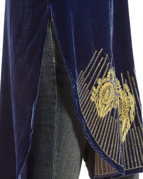 Tasha Polizzi Women's Blue Daisy Tunic , Blue, hi-res