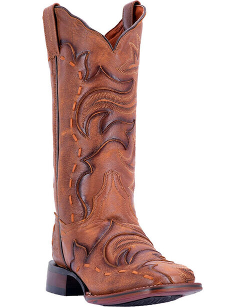 Dan Post Women's Queen Brown Western Boots - Square Toe, , hi-res