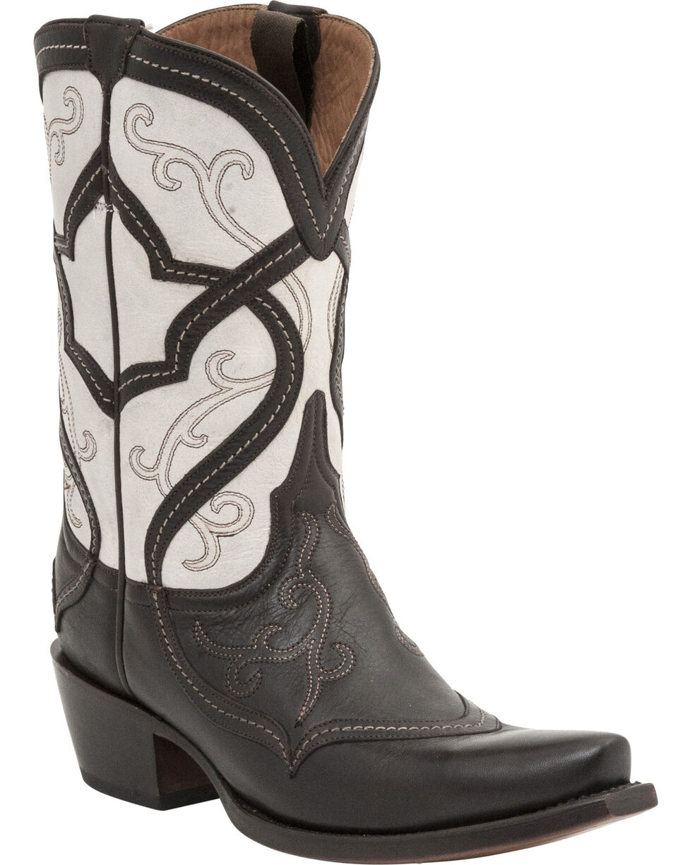 Lucchese Handcrafted 1883 Women's Audine Cowgirl Boots - Snip Toe, Whiskey, hi-res