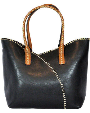 Wear N.E. Wear Women's Black 2 Piece Handbag, Black, hi-res