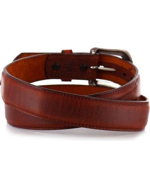 """3D Men's 1 1/2"""" Basic Western Belt, Brown, hi-res"""