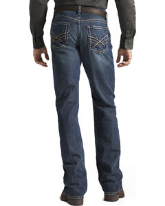 "Ariat Denim Jeans - M4 Deadrun Relaxed Fit - 38"" Inseam, Med Wash, hi-res"